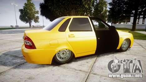 VAZ-Lada 2170 Priora de hobo para GTA 4 left