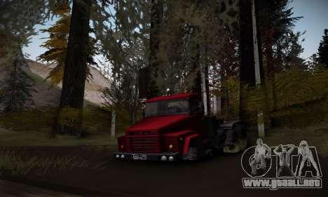 Pista de off-road 2.0 para GTA San Andreas tercera pantalla
