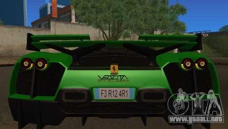 Ferrari Velocita 2013 para la visión correcta GTA San Andreas