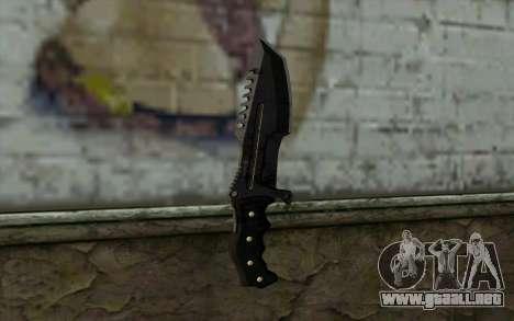 Knife from COD: Ghosts v2 para GTA San Andreas segunda pantalla