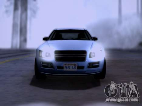 Obey Tailgater GTA V para la visión correcta GTA San Andreas
