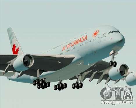 Airbus A380-800 Air Canada para el motor de GTA San Andreas