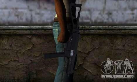 UMP45 v1 para GTA San Andreas tercera pantalla