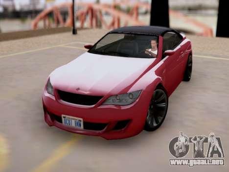 La superioridad de Sión convertible GTA V para GTA San Andreas