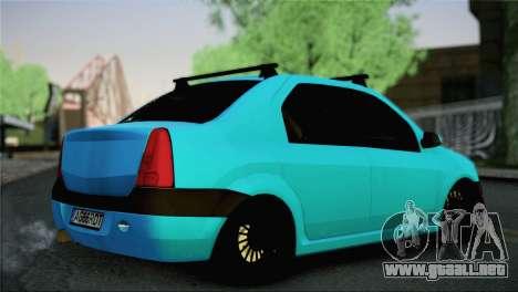 Dacia Logan Simply Clean para GTA San Andreas left