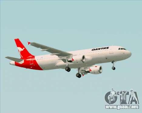 Airbus A320-200 Qantas para GTA San Andreas