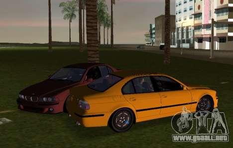BMW M5 E39 para GTA Vice City vista lateral izquierdo