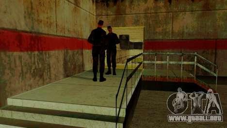 Zona de recuperación 69 para GTA San Andreas octavo de pantalla