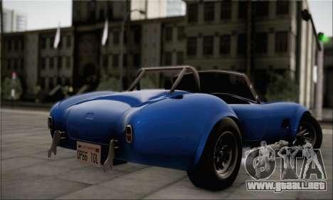 Shelby Cobra V10 TT Black Revel para GTA San Andreas left