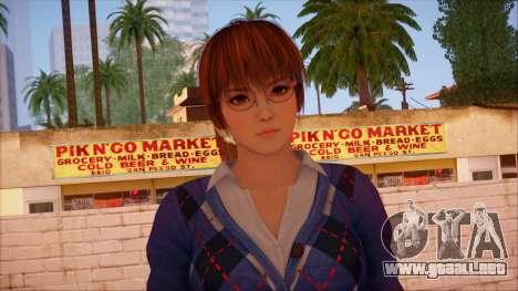 Modern Woman Skin 9 v2 para GTA San Andreas tercera pantalla