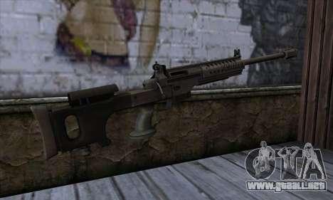 JNG-90 para GTA San Andreas segunda pantalla