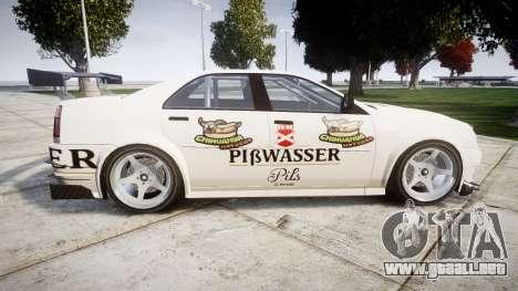 Albany Presidente Racer [retexture] Pibwasser para GTA 4 left