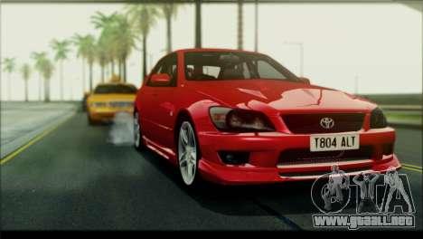 ENB Rujac para equipos débiles para GTA San Andreas segunda pantalla