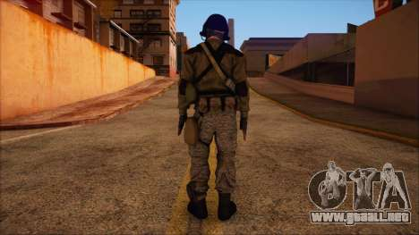 Recon from Battlefield 3 para GTA San Andreas segunda pantalla