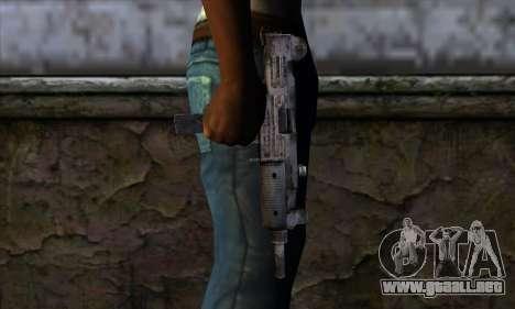 Uzi из Call of Duty Black Ops para GTA San Andreas tercera pantalla
