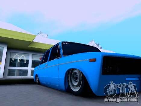 VAZ 2106 para vista lateral GTA San Andreas