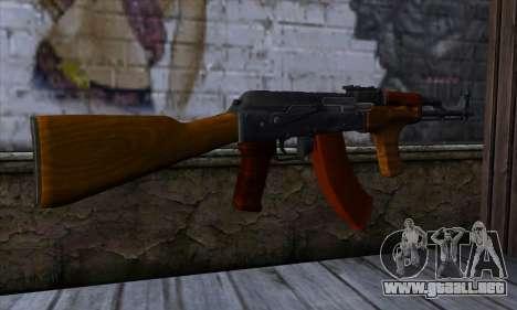 Romanian AKM para GTA San Andreas segunda pantalla