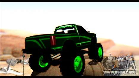 City Destroyer v2 para GTA San Andreas vista posterior izquierda