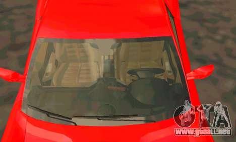 Ferrari 599 Beta v1.1 para GTA San Andreas vista hacia atrás