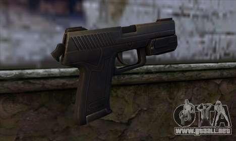 MK23 para GTA San Andreas segunda pantalla