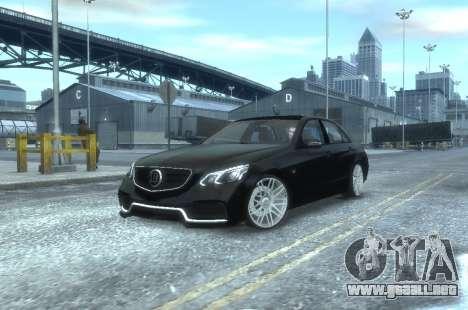 Mercedes-Benz E63 BRABUS 850 para GTA 4 left