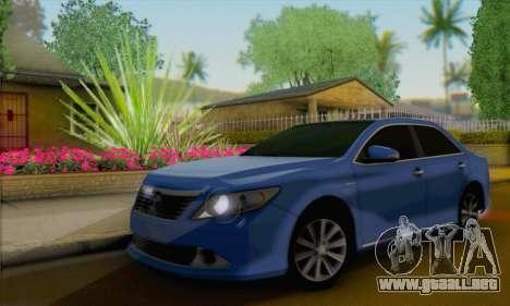 Toyota Aurion para GTA San Andreas