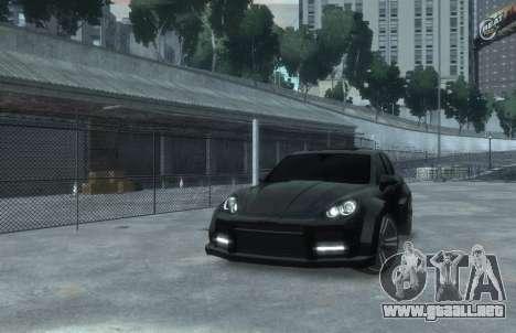 Porsche Cayenne 2012 GT para GTA 4 visión correcta