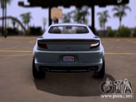 GTA V Ocelot Jackal para la visión correcta GTA San Andreas