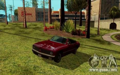 ENB para baja de PC (SAMP) para GTA San Andreas segunda pantalla