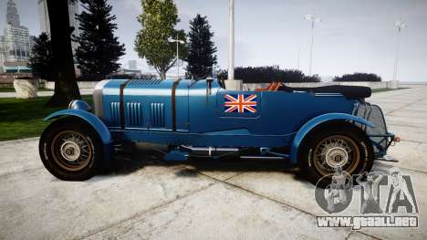 Bentley Blower 4.5 Litre Supercharged [high] para GTA 4 left