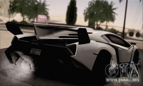 Lamborghini Veneno LP750-4 White Black 2014 HQLM para GTA San Andreas left
