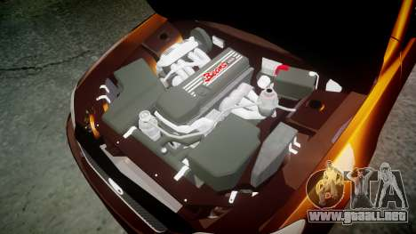 Toyota Altezza para GTA 4 vista interior