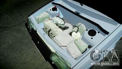 El USO de-2109 hobo para GTA 4 vista interior