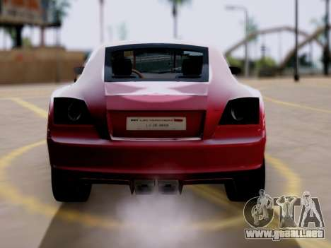 GTA 5 Fusilade para GTA San Andreas vista posterior izquierda