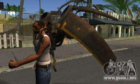 Jetpack from Batman Arkham Origins para GTA San Andreas segunda pantalla