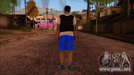GTA 5 Online Skin 15 para GTA San Andreas segunda pantalla