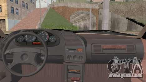 BMW 320i E36 para GTA San Andreas vista posterior izquierda