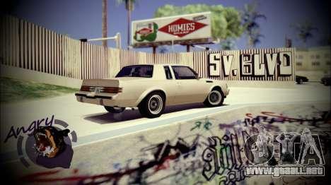 Skate Park para GTA San Andreas tercera pantalla
