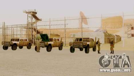 Zona de recuperación 69 para GTA San Andreas sucesivamente de pantalla