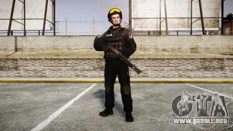 Uniformes de asalto de los grupos especiales. ar para GTA 4