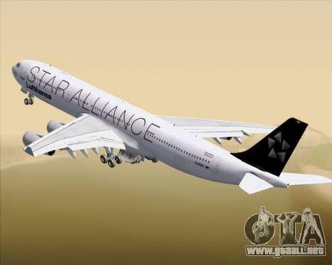 Airbus A340-300 Lufthansa (Star Alliance Livery) para GTA San Andreas
