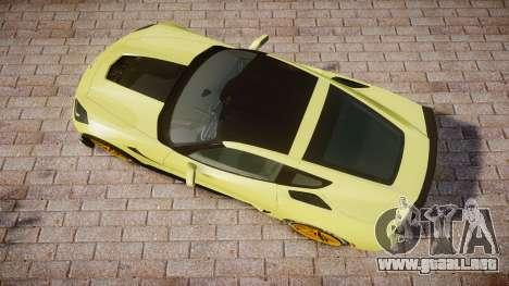 Chevrolet Corvette Z06 2015 TireGY para GTA 4 visión correcta