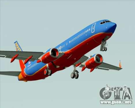 Boeing 737-800 Southwest Airlines para el motor de GTA San Andreas