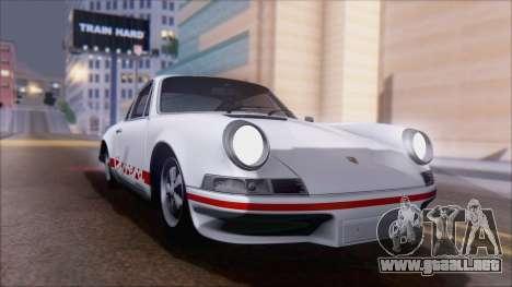 Porsche 911 Carrera 1973 Tunable KIT A para la visión correcta GTA San Andreas