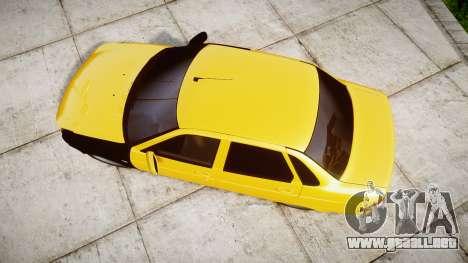 VAZ-Lada 2170 Priora de hobo para GTA 4 visión correcta