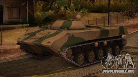 BMD-1 de ArmA armed Assault Camuflaje para GTA San Andreas