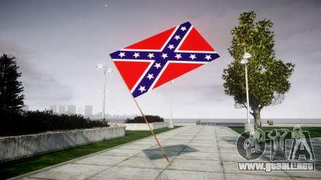 La bandera de la Confederación para GTA 4 segundos de pantalla