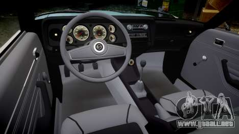 Ford Capri GT Mk1 para GTA 4 vista interior