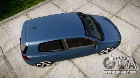 Volkswagen Golf GTI 2010 para GTA 4 visión correcta