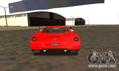 Ferrari 599 Beta v1.1 para la visión correcta GTA San Andreas